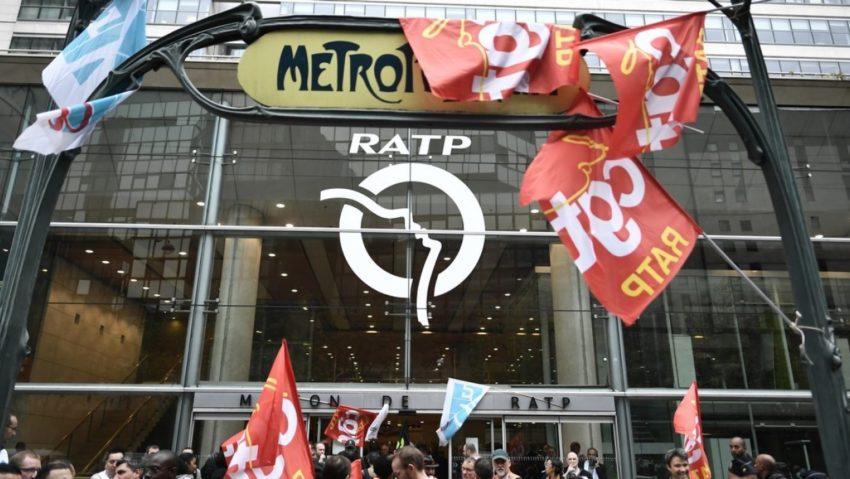 sciopero illimitato dei mezzi a Parigi