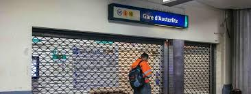 sciopero a parigi 8 dicembre