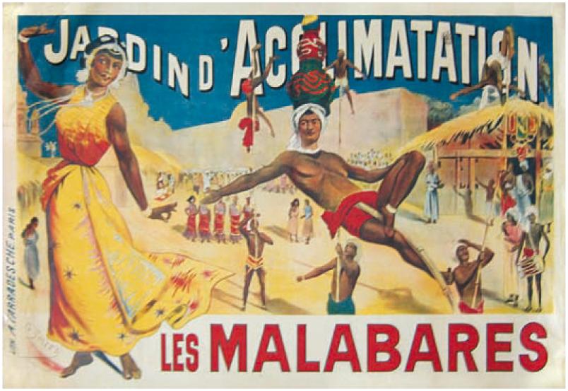 Affiche Jardin d'Acclimatation
