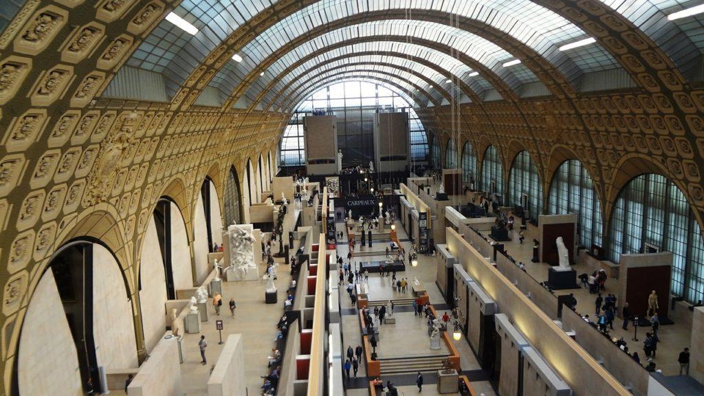 Musée d'Orsay Interno