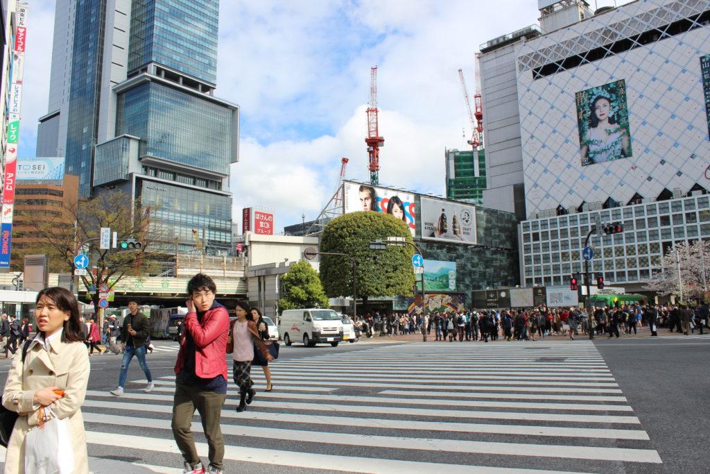 L'incrocio di Shibuya