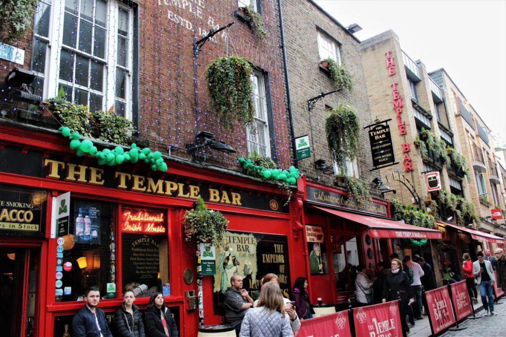 San Patrizio a Dublino temple bar