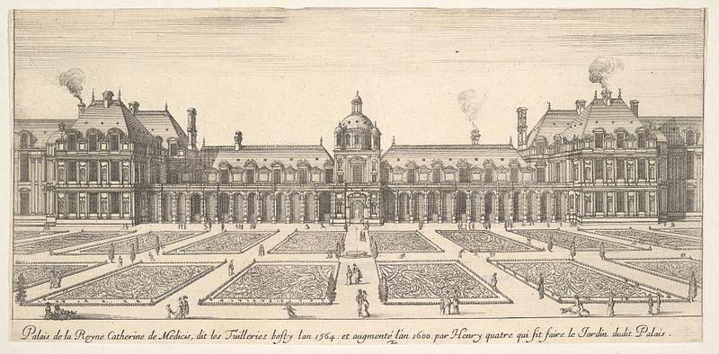 Parigi che non esiste più Palazzo delle Tuileries