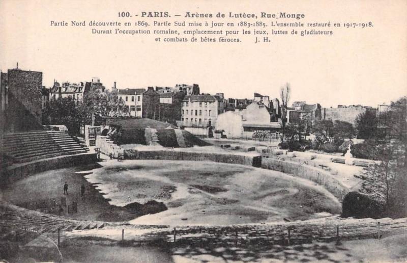 Parigi che non esiste più Le Arene di Lutezia