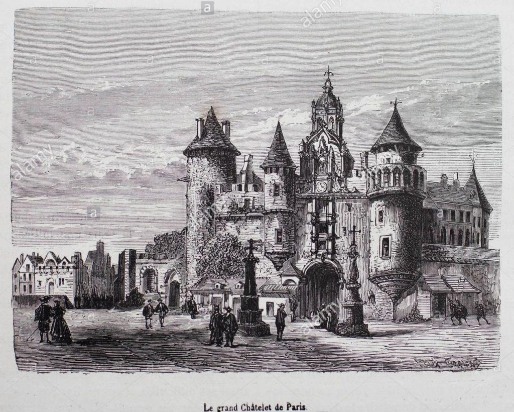 Parigi che non esiste più La fortezza di Chatelet