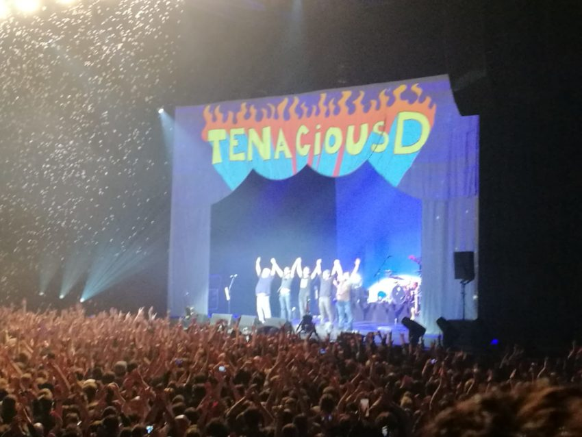 Tenacious D in concerto a Parigi