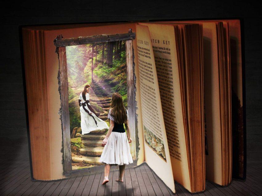Libro per viaggiare con la fantasia