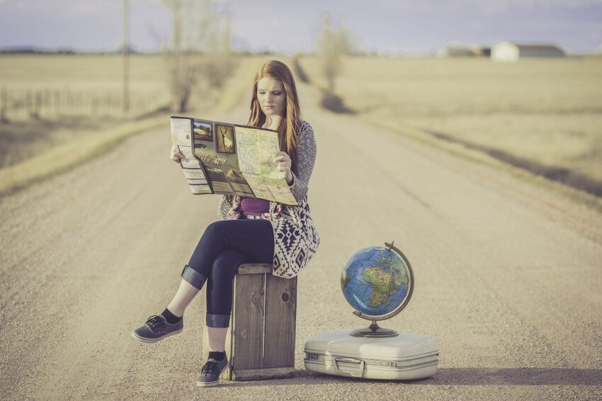 gestire le nausee in viaggio