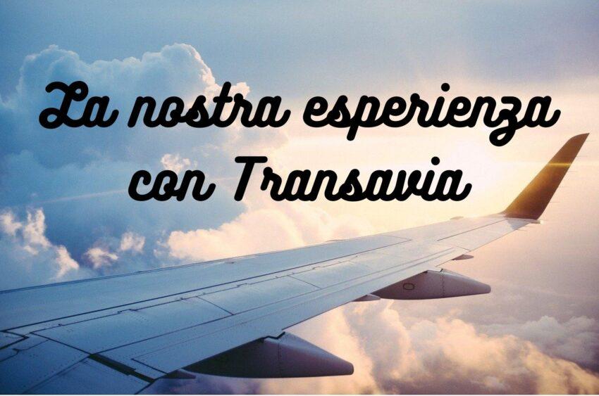 la nostra esperienza con Transavia