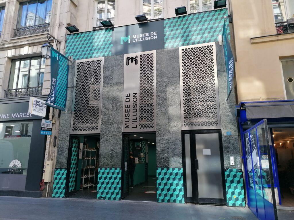 Musée de l'illusion di Parigi ingresso