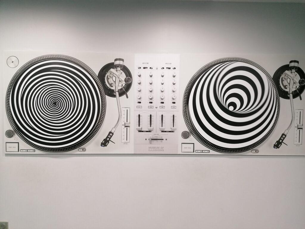 Musée de l'illusion di Parigi illusione