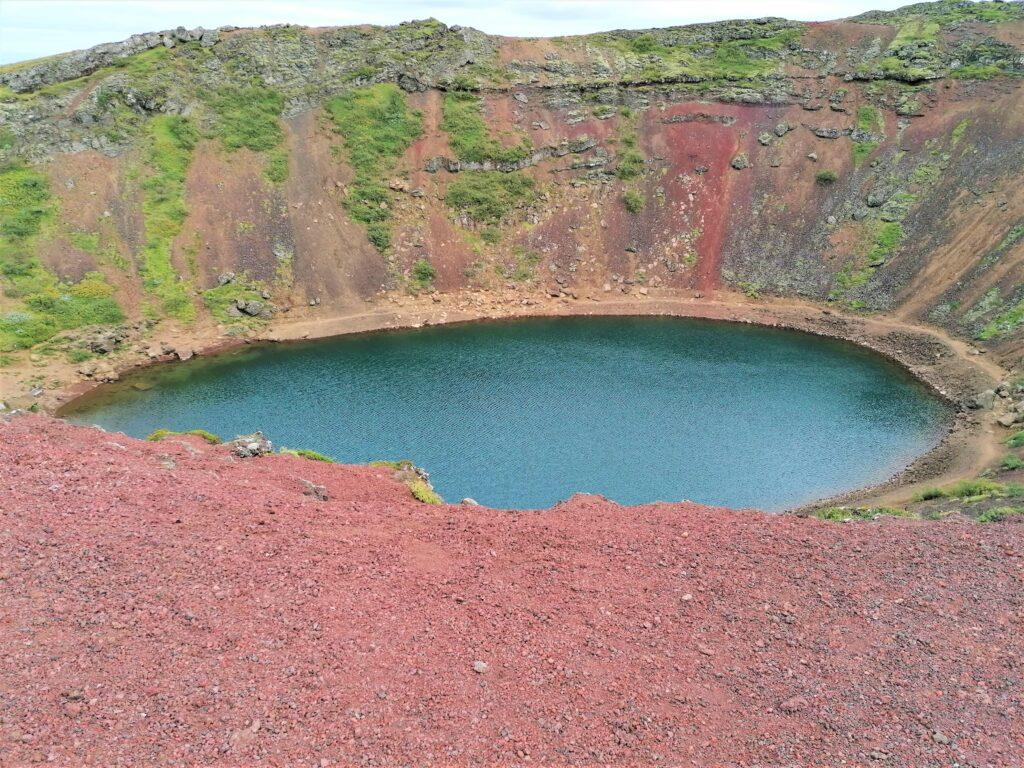 Circolo d'oro vulcano Kerid