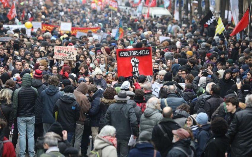 Sciopero a Parigi del 10 dicembre