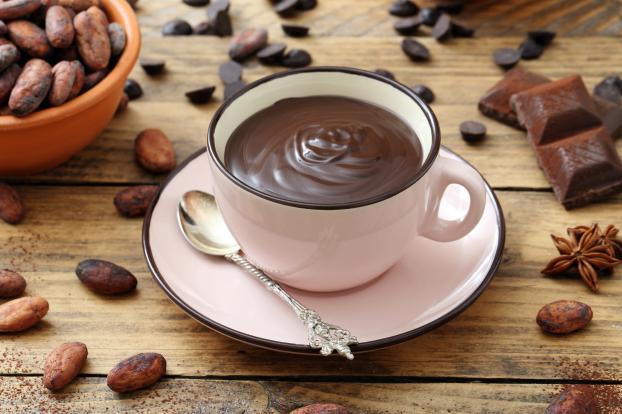 Cioccolata calda a Parigi