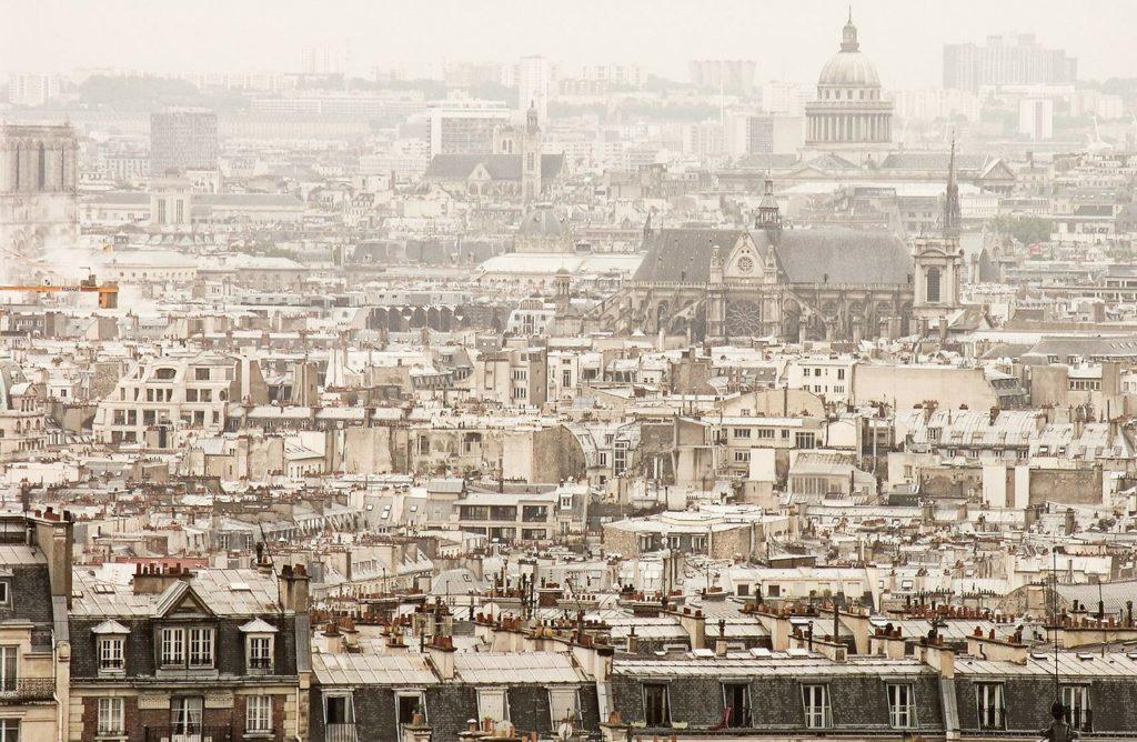 Sacré Cœur vista su Parigi