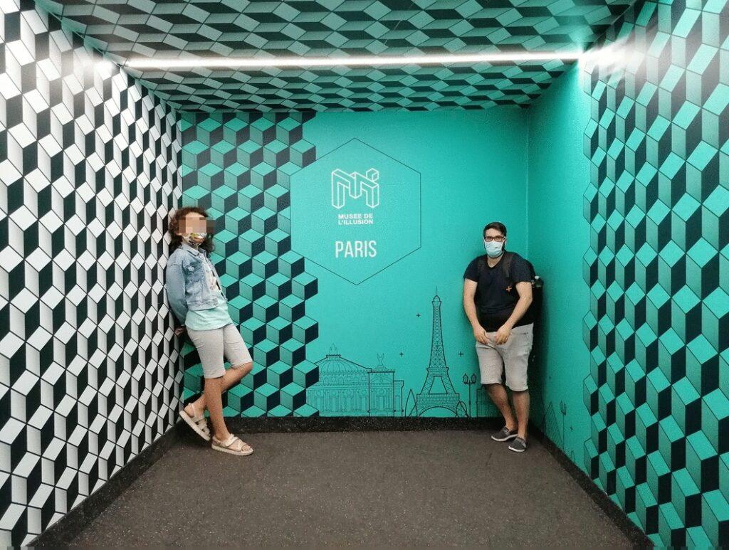 Il musée de l'illusion di Parigi la stanza dei contrari