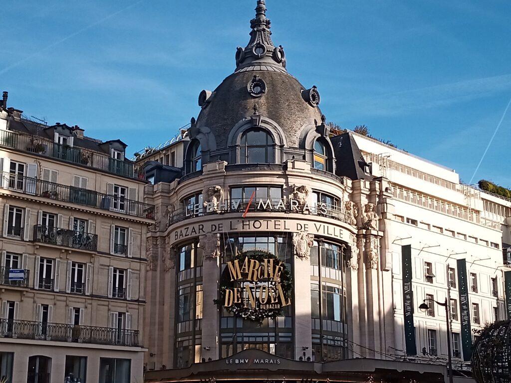 Natale 2020 a Parigi BHV