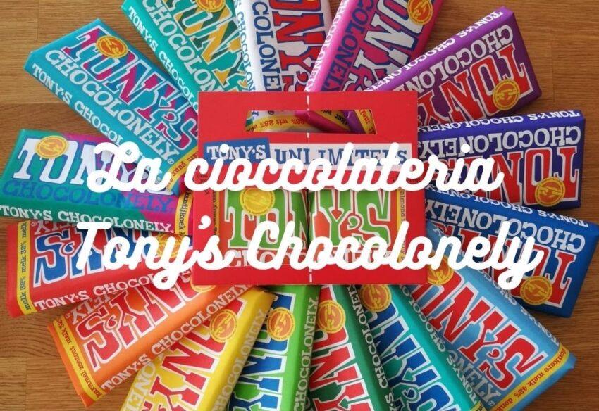 La cioccolateria Tony's Chocolonely