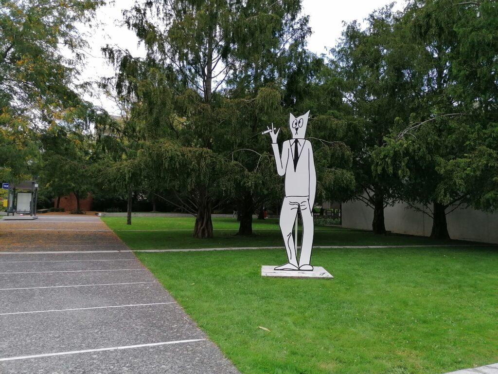 Museo MAC VAL il giardino
