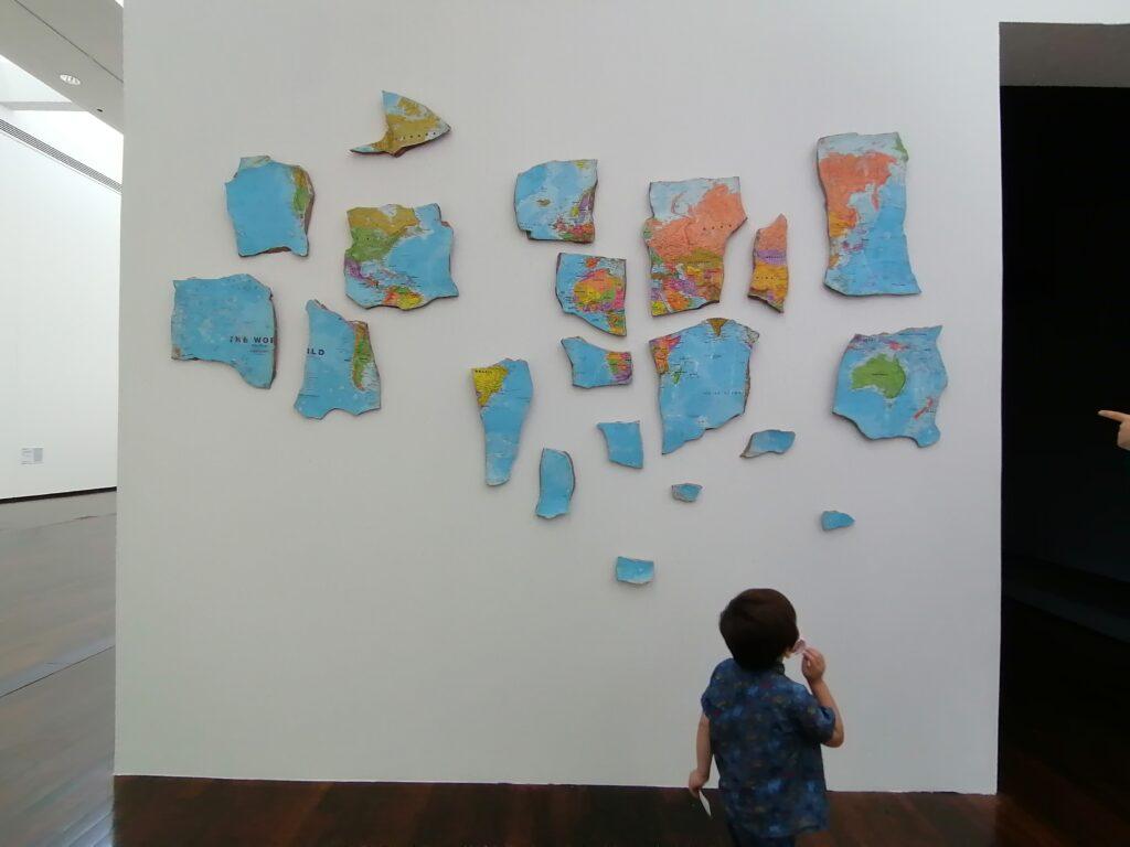 Museo MAC VAL interno